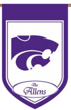 Kansas State Personalized House Flag