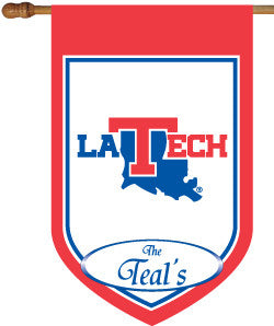 Louisiana Tech Personalized College Flag