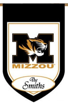 University of Missouri Personalized College House Flag