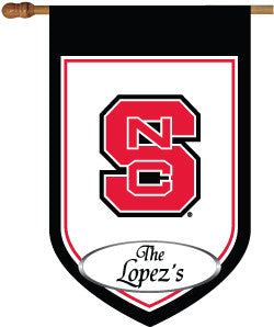 NCST Personalized College House Flag
