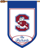 SC State Personalized House Flag