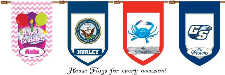 Custom House Flags