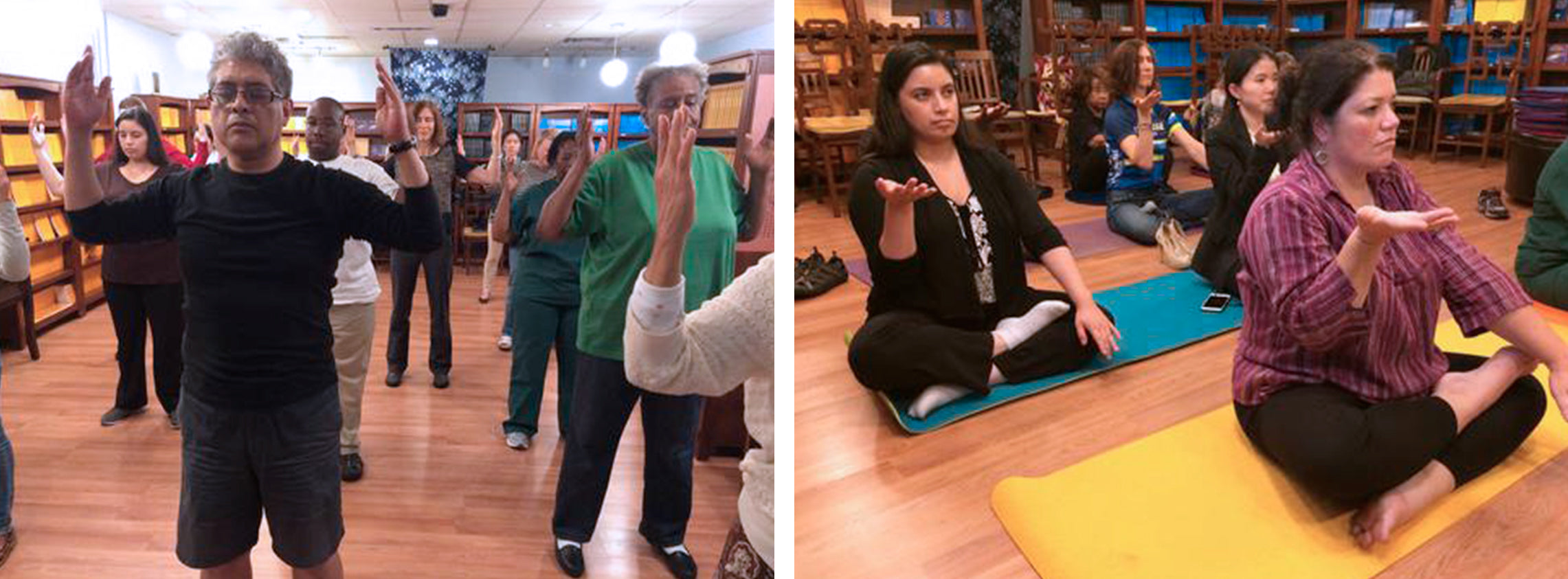 Falun Dafa 9 Sessions Classes at Tianti Bookstore