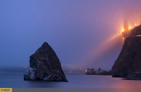 Evening Fog at the Golden Gate Bridge