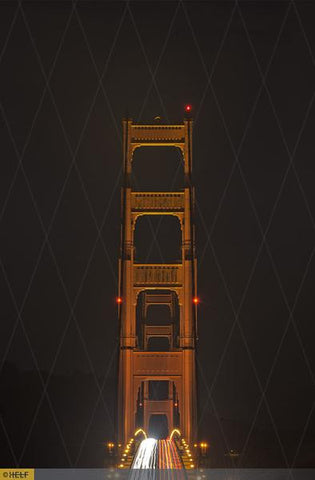 Golden Gate Bridge - two towers -