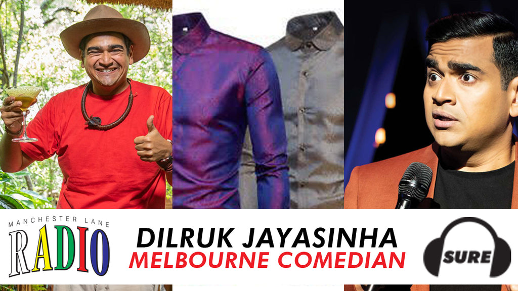DILRUK JAYASINHA GUESTS ON OUR NEW PODCAST