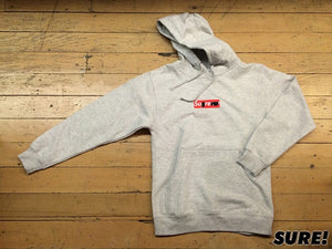 Sharpie Pullover Hood - grey