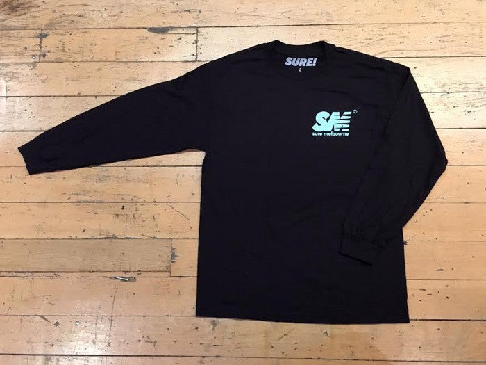 SM Logo LS - Black / Tiffany