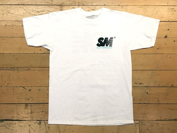 SM Logo New Tone T-Shirt - white
