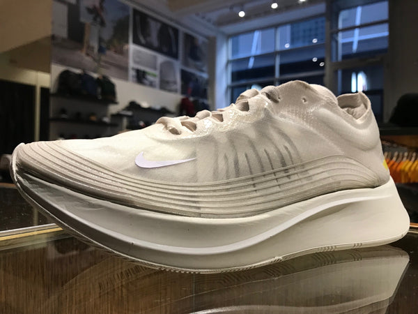 Nike Zoom Fly SP - Light Bone / White Sail