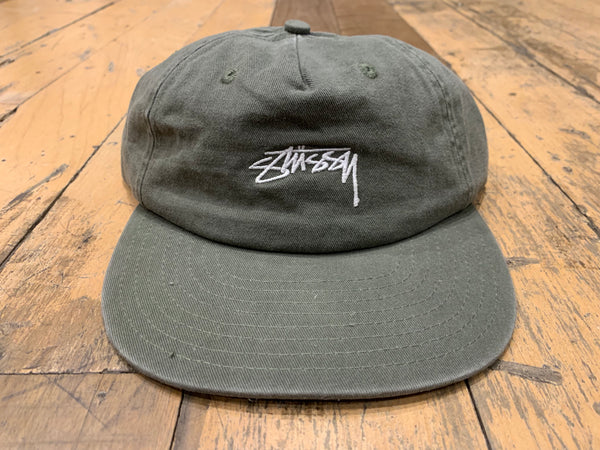 Stock Unstructured Cap - Burnt Olive