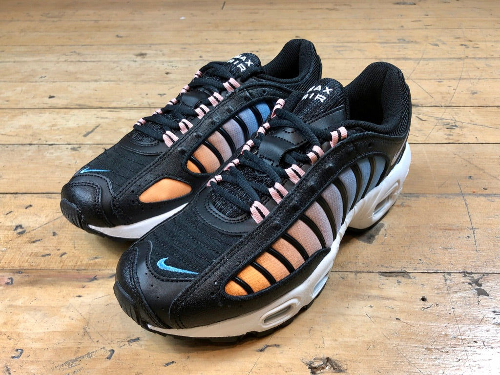 Women's Size 7 HALF PRICE Air Max Tailwind IV - Black/White/Coral Stardust