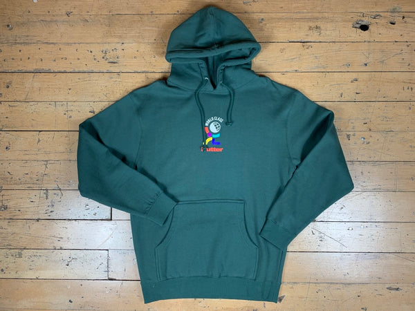World Class Pullover Hood - Forest Green