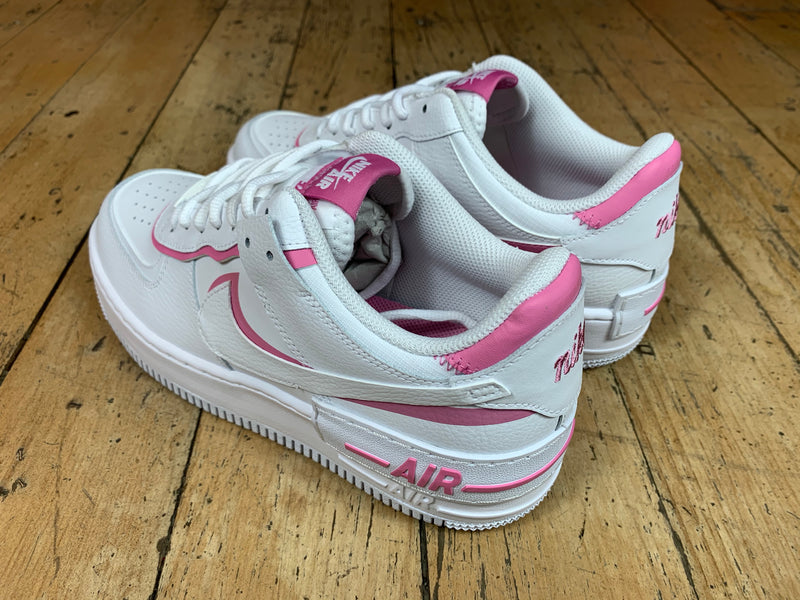 Women's AF1 Shadow - White / Magic / Flamingo
