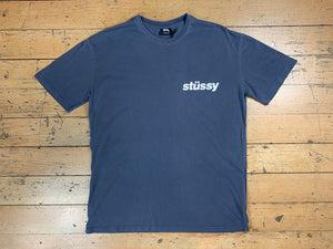 Pigment Italic T-Shirt - Blue Nights