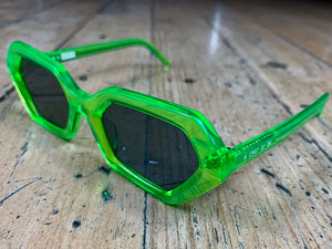 Akila x 10 Deep - Neon Green Frame/Grey Lenses