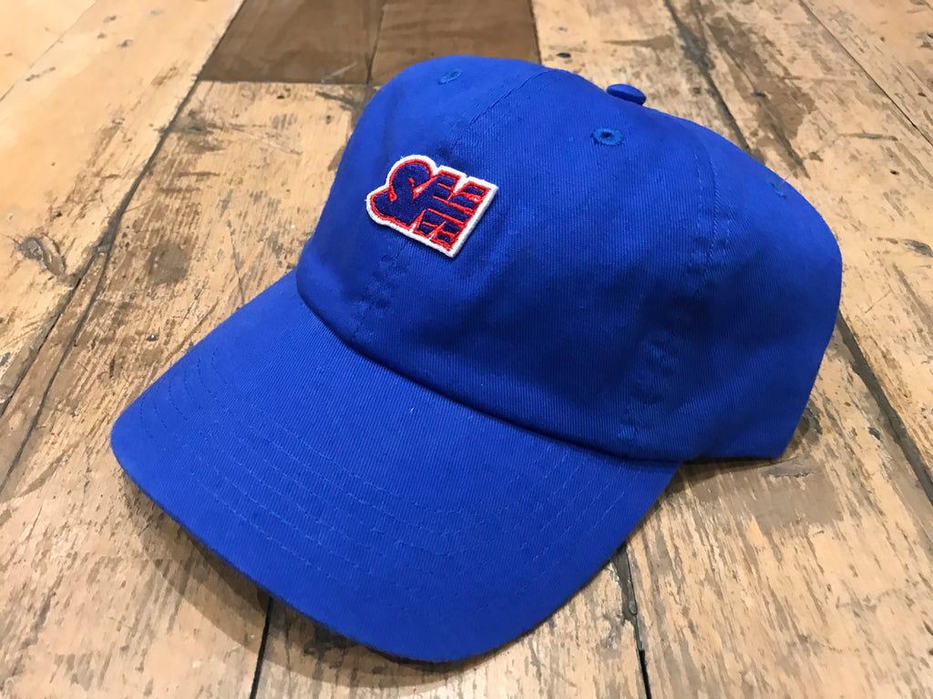 Champion SM Embroid Cap - Royal Blue