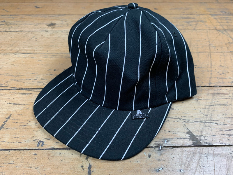 Stripe Snapback - Black