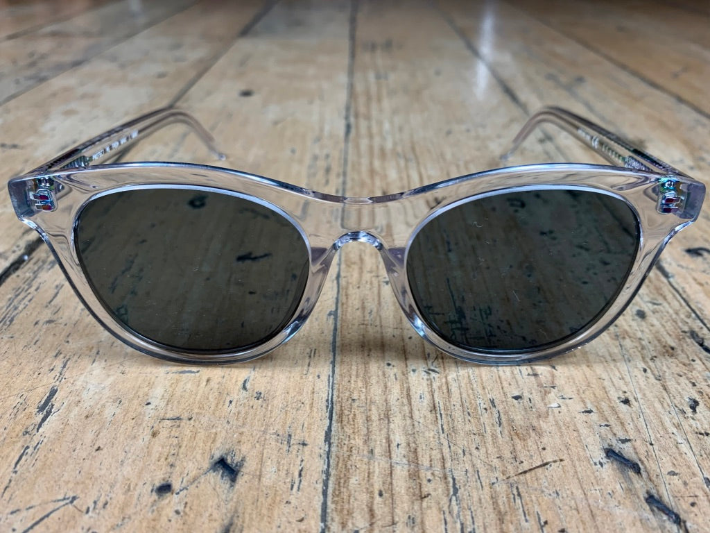 Studio Eclipse - Clear Frame/Grey Lens