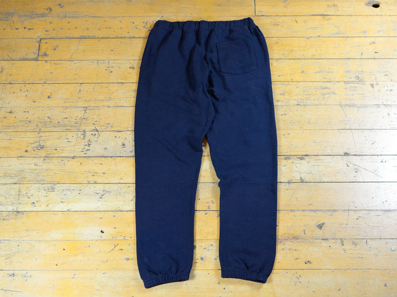 SM Embroidered Track Pant - Navy