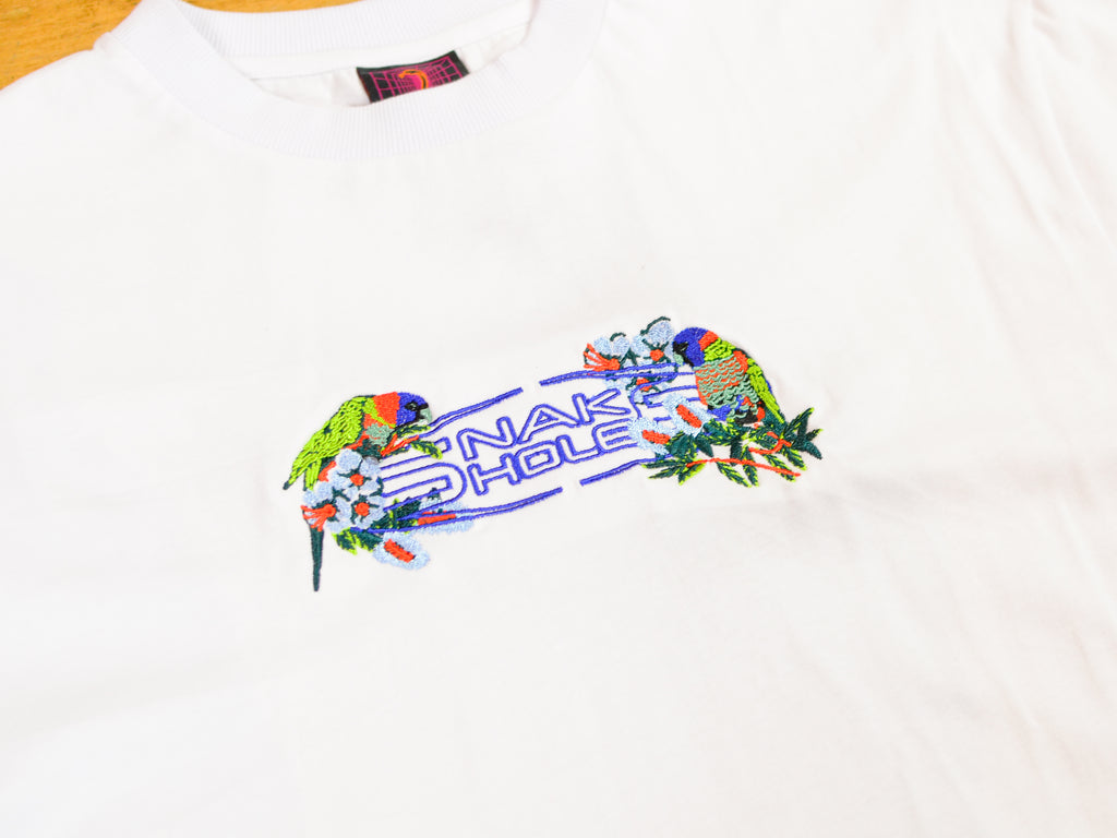 Parrot Rave T-Shirt - White