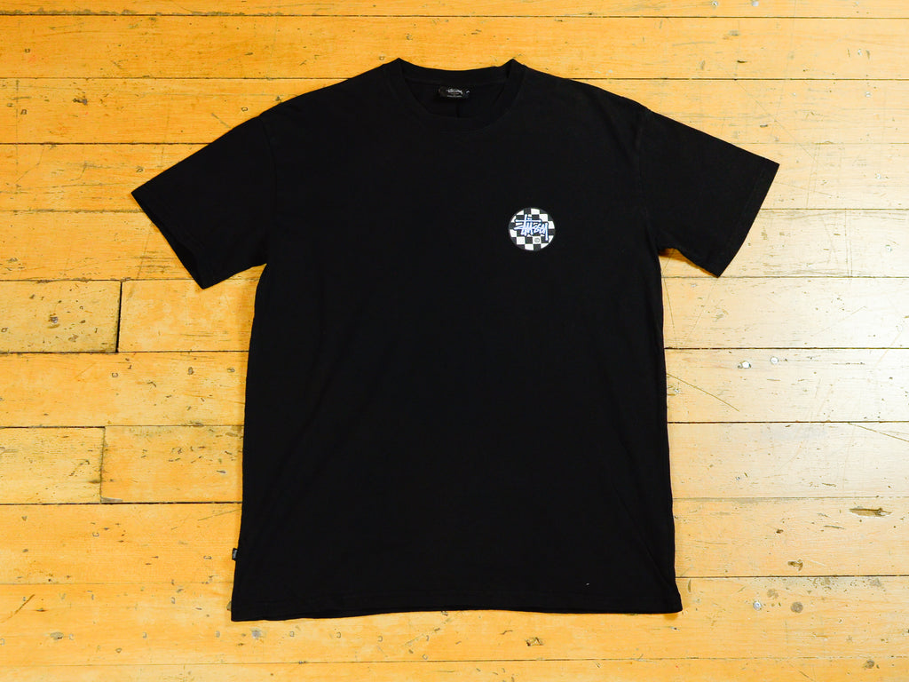 Chequer Dot T-Shirt - Pigment Black
