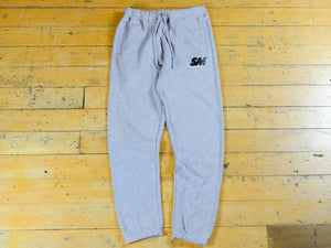 SM Embroidered Track Pant - Athletic Heather