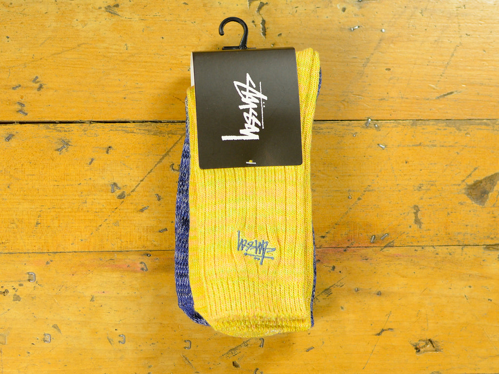 Graffiti Multi-Yarn Sock 3pk - Multi Coloured