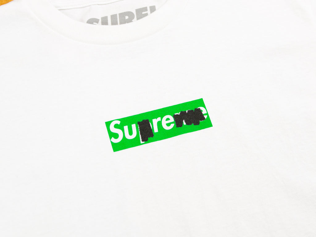 Green Sharpie T-Shirt - White