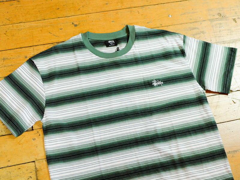 Gradient Graffiti YD Stripe T-Shirt - Flight Green
