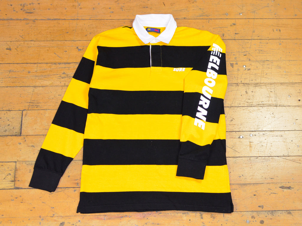 SM Runner Stripe Rugby - Yellow / Reflective