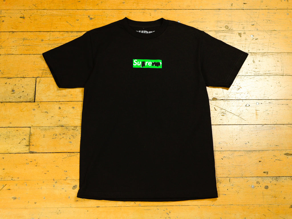 Green Sharpie T-Shirt - Black