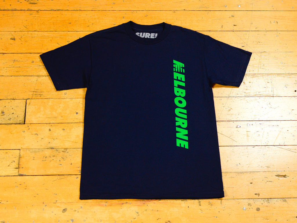 SM Runner T-Shirt - Navy / Green