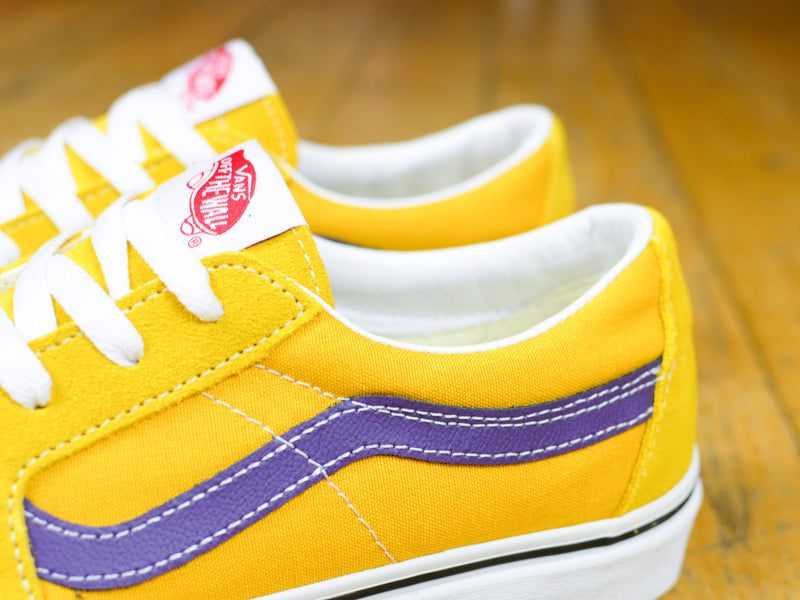 Sk8-Low Shoes - Honey Gold/Purple Velvet