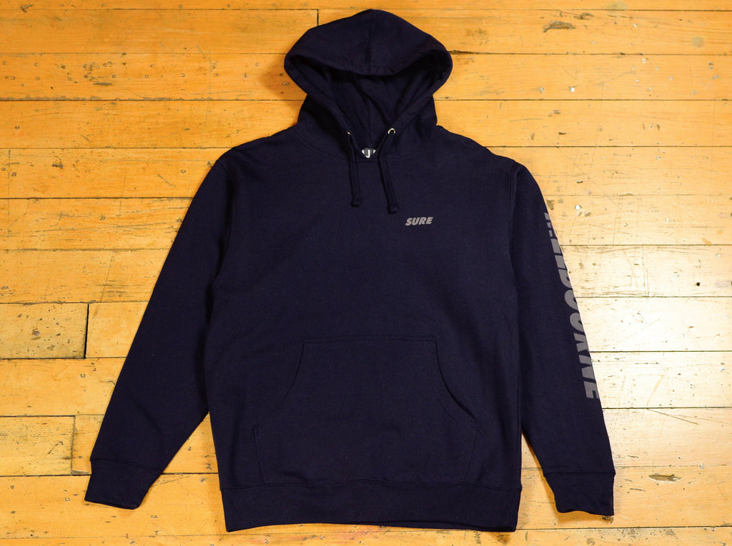 SM Runner Hood - Navy / Reflective