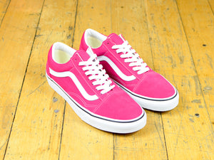 Old Skool - Cerise / True White
