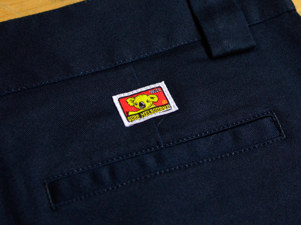 SM Classic Logo Pocket T-Shirt - White / Tiffany Blue