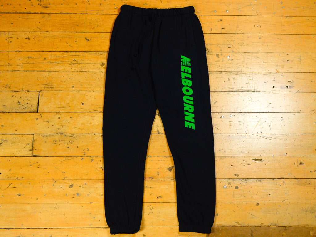 SM Runner Track Pant - Navy / Green