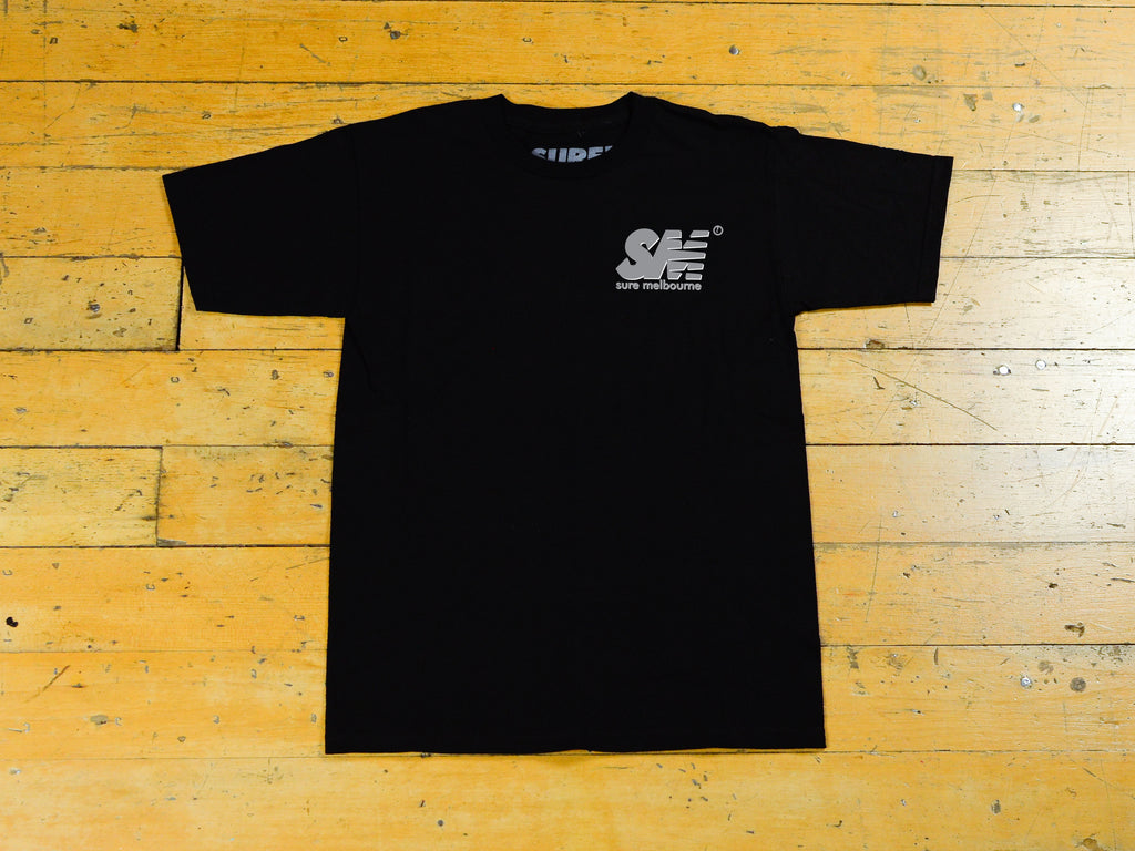 SM Shadow T-Shirt - Black / 3M / Black