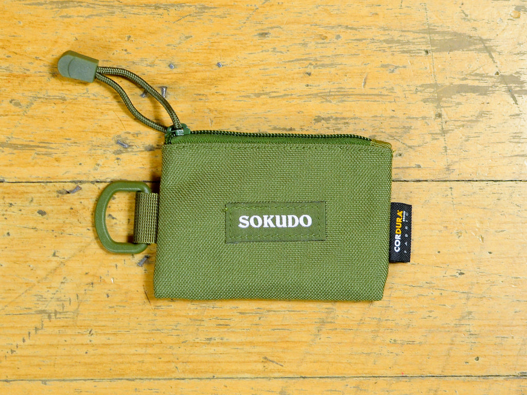 Coin Cordura Purse - Olive Drab
