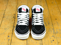 Anaheim Factory SK8-Hi 38 DX - Black / True White