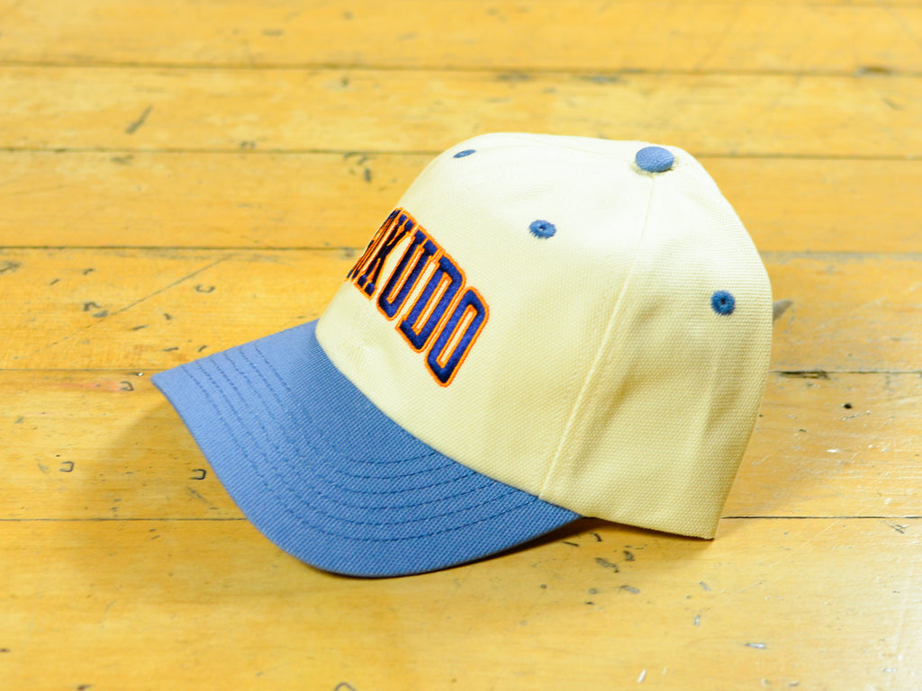 Arc Cap - Cream / Blue