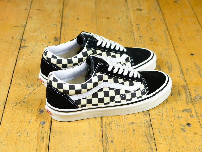 Anaheim Factory Old Skool 36 DX - Black / Check