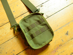 Messenger Cordura Side Bag - Olive Drab