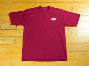 Oval T-Shirt - Maroon