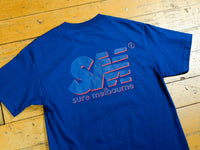 SM Shadow T-Shirt - Harbour Blue / Navy / Red