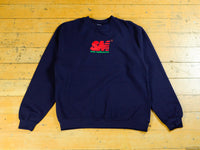 SM Embroidered Crew - Navy