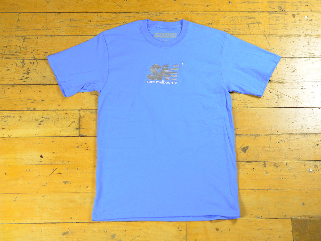 SM Embroidered T-Shirt - Ultra Marine