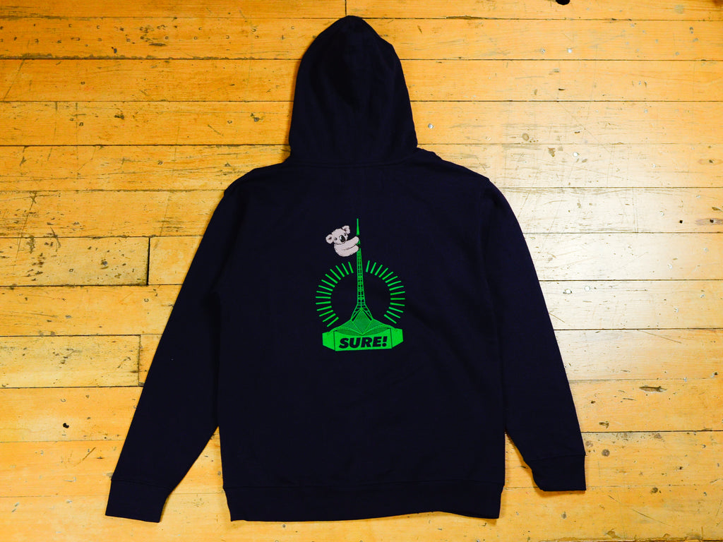 Art Clippy Hood - Navy