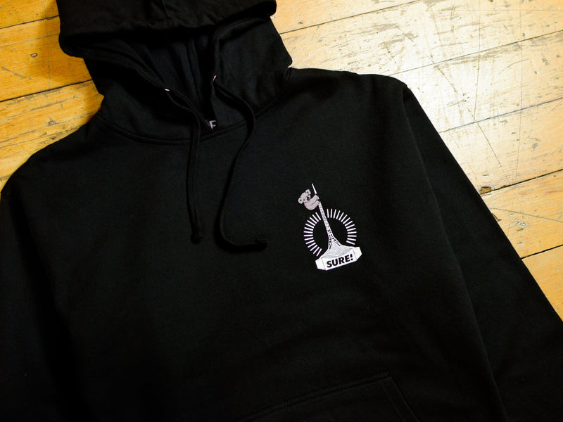 Art Clippy Hood - Black